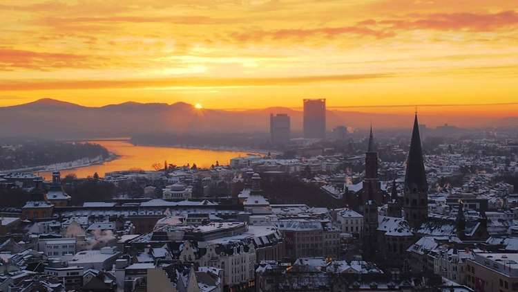 Batı Almanyanın Eski Başkenti Bonn