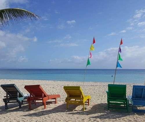 Filipinler Bantayan Adası