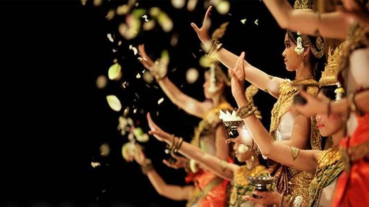 Geleneksel Khmer Dansı Apsara