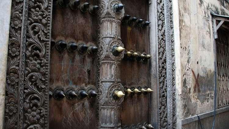 Zanzibarın Meşhur Ahşap Kapıları