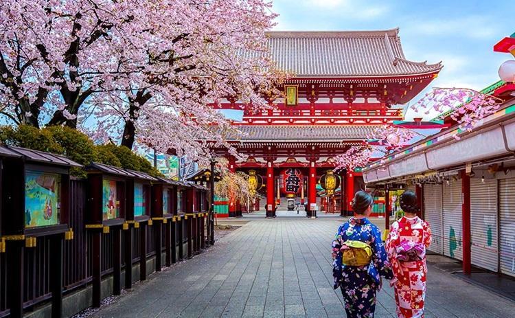 tokyo sensoji tapınağı