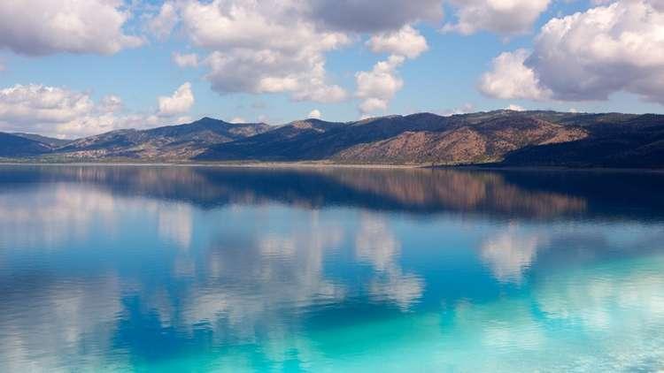 Tropik Görünümlü Salda Gölü