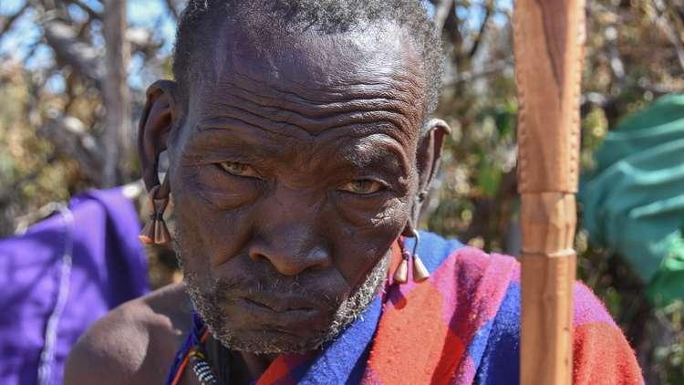 Afrika Masailer Masai Kabileri
