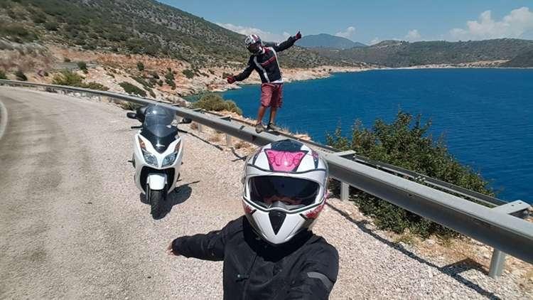 Motosiklet Yolculuğu Akdeniz Ege Turu