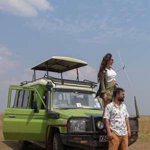 Büyük Göç Zamanı Afrikada Safari