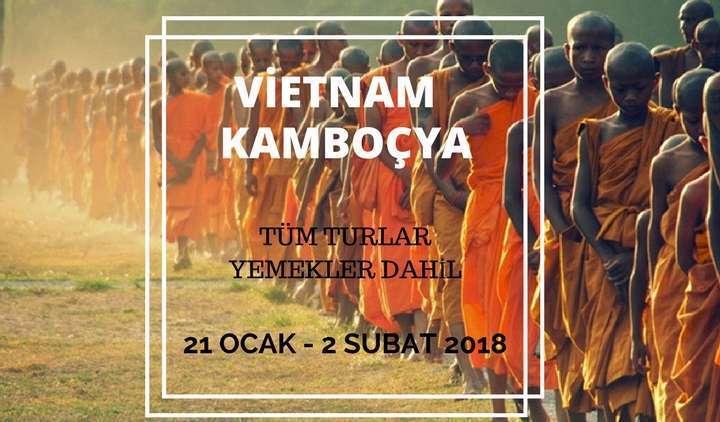 Vietnam Kamboçya Turu Sömestr Turları