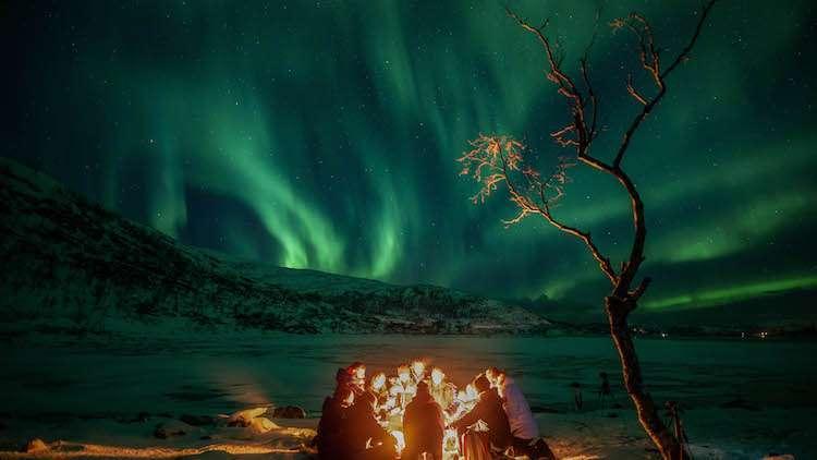 Norveç İsveç Kuzey Işıkları Turu