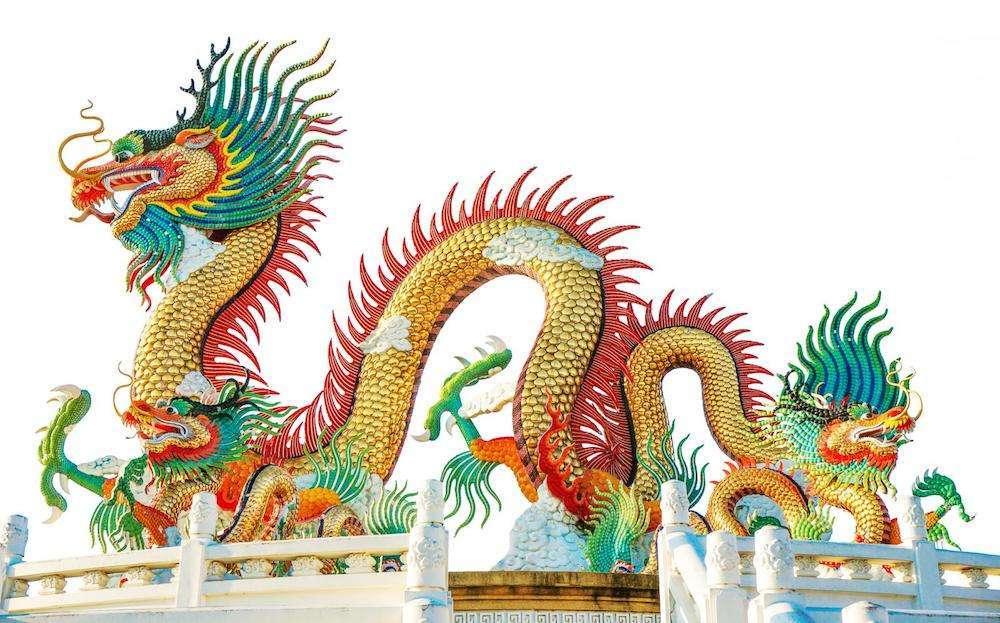 Çin Mitolojisinde Ejder