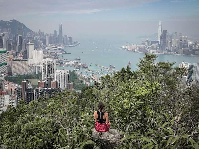 hong kong manzara noktası
