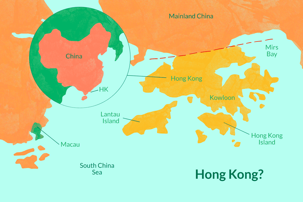 Hong kong nerededir