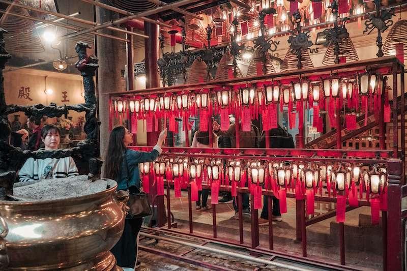 hong kong man mo tapınağı