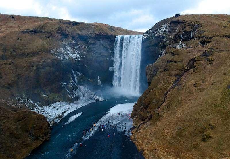 izlandanın en güzel şelaleleri