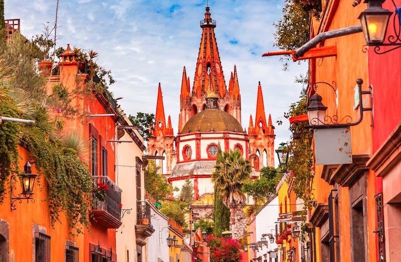 Meksika San Miguel de Allende