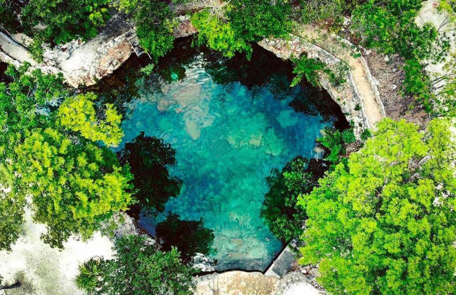 Meksika cenote casa tortuga