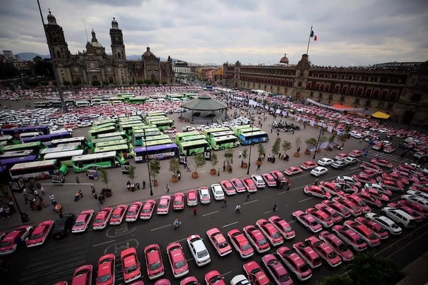 meksikada toplu taşıma