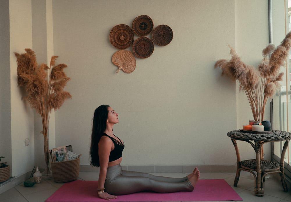 yoga Dandasana