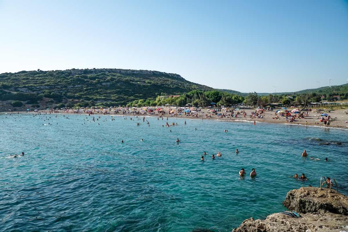altınköy plajı urla
