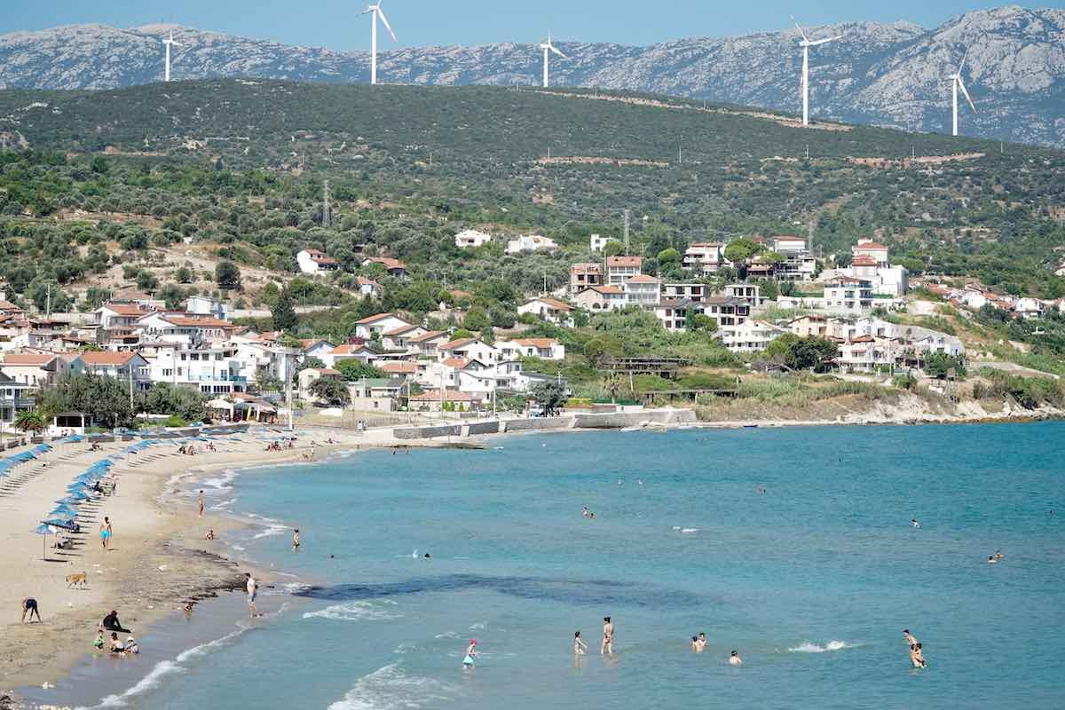 ardıç plajı Karaburun izmir