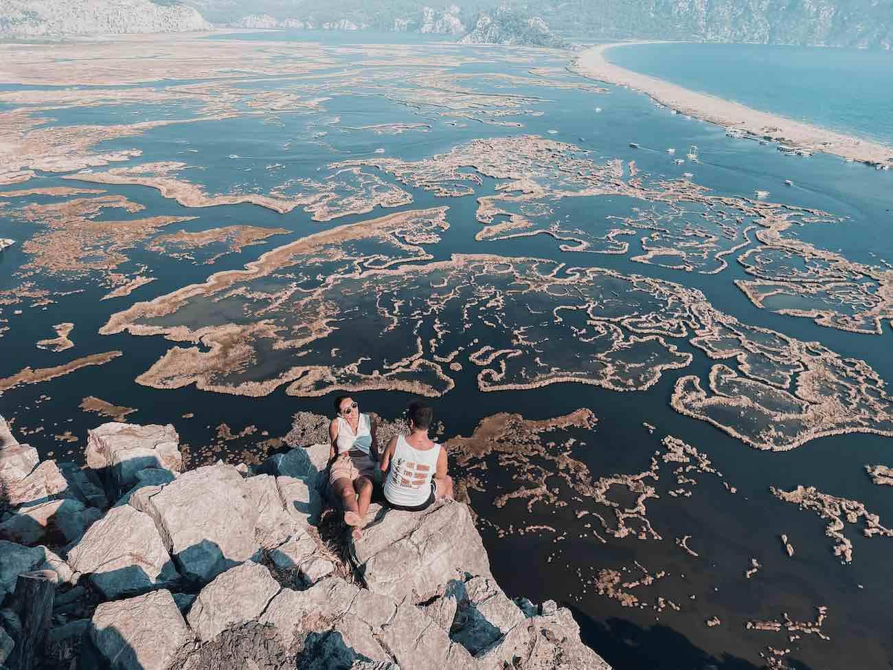 dalyan manzara dalyan deltası
