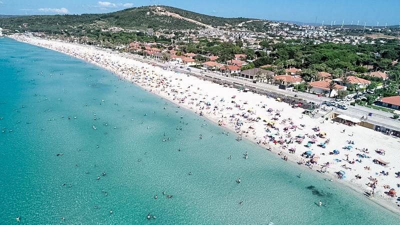 Ilıca Plajı Çeşme İzmir