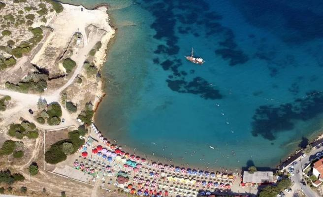 Pırlanta plajı Çeşme İzmir
