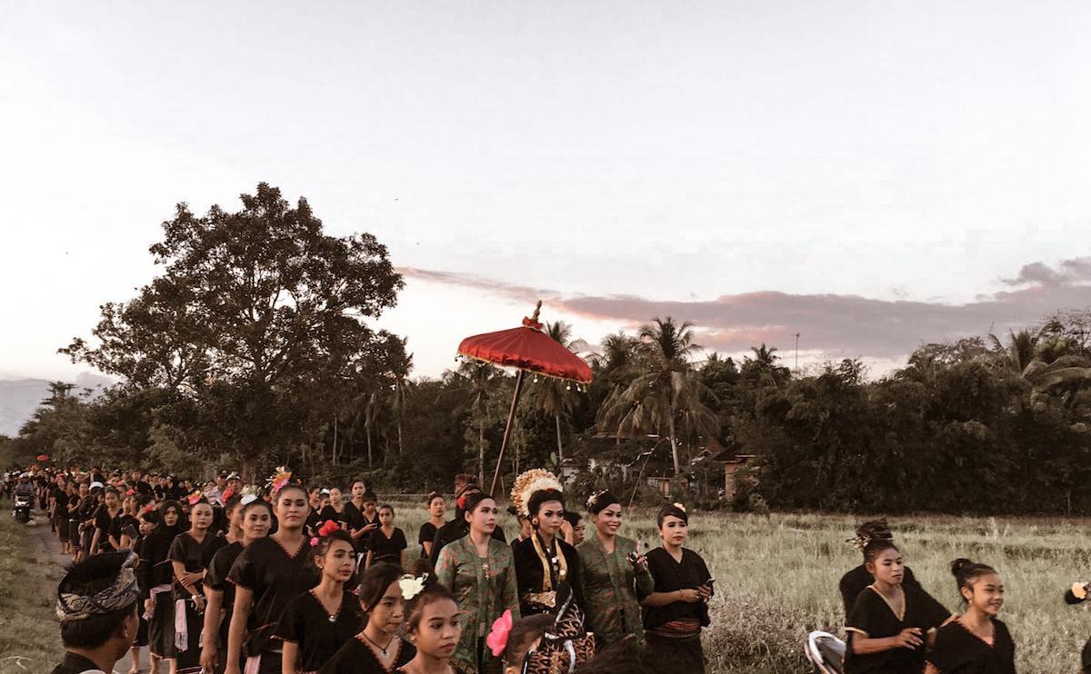 sasak insanlari lombok adasi